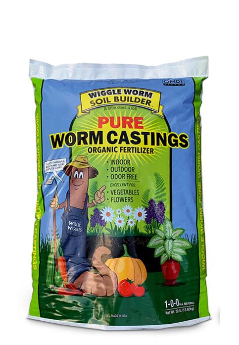 Wiggle Worm 15lb bag