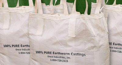 Wiggle Worm bulk bags