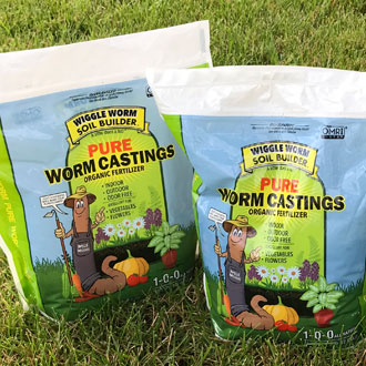 100% PUREEarthworm Castings
