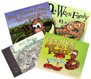 Pee Wee book bundle