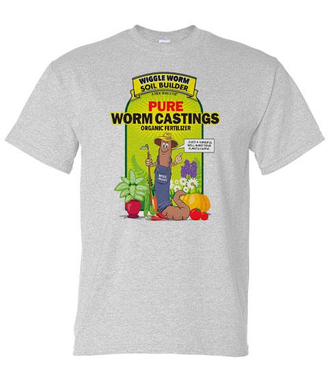 Wiggle Worm tee shirt